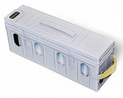 Zinc silver battery series